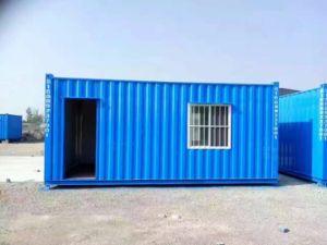 Low Cost Modular Colored Container House pictures & photos