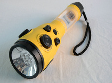 2015 Solar Gifts Solar Radio Solar Flashlight Torch with LED Light for Emergency Use (HT-3068) pictures & photos