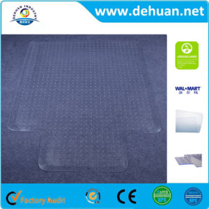 Chair Mats for Carpeted Floors Carpet Protector Mat Rectangle with Lip pictures & photos