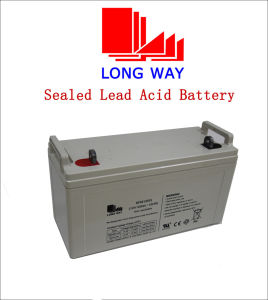 12V120ah Rechargeable Battery Used for Solar System pictures & photos