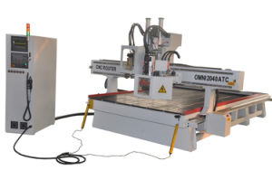Omni Wood CNC Router with Saw for Cutting pictures & photos