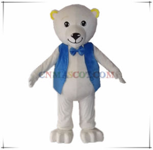 Gentleman Bear Mascot Costume at High Quality Level