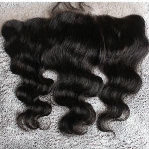 Remy Hair Body Wave Freestyle Lace Frontal with Baby Hair pictures & photos