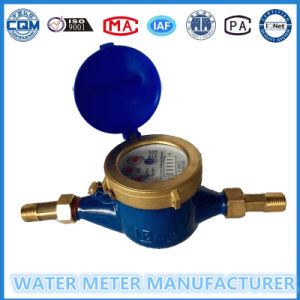 Multi Jet Dry Type Cold Water Meter Brass Body (LXSG-15E-50E) pictures & photos