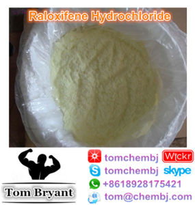 HPLC Purity 99.34% Raloxifene Hydrochloride Powder CAS: 82640-04-8 pictures & photos