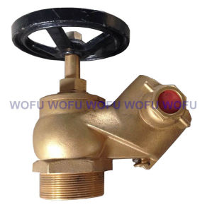 Landing Valve with Right Angle 45 Degree pictures & photos