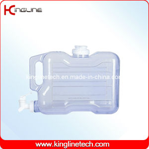 1.5 Gallon Rectangle Freezer Plastic Water Jug Wholesale BPA Free with Spigot (KL-8013) pictures & photos