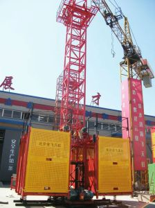 Double Cage -- Sc200/200construction Material Hoist Made in China pictures & photos