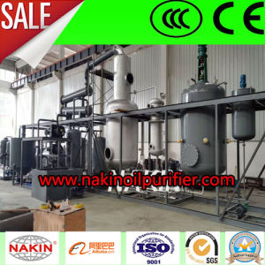 10 Ton Black Waste Motor Engine Lubricating Oil Recycling to Yellow Base Oil Refineries pictures & photos