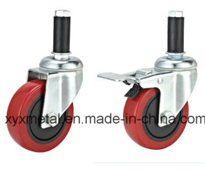 Medium Duty Double Bearing Rotating Mute Design Caster pictures & photos