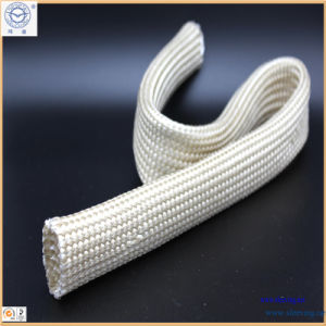 Thermo Sleeve Thicker Wall Fiberglass Sleeving for Hose pictures & photos