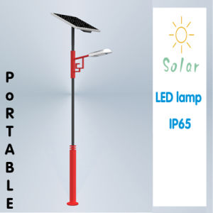 8W LED Portable, IP65, Solar Garden/Street/Yard Light