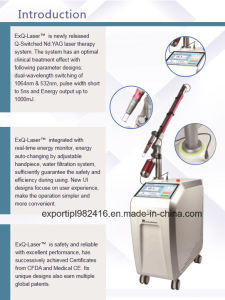 Picosecond Laser Pigmentations Removal Laser Equipment FDA Tga Medical Ce Approved pictures & photos
