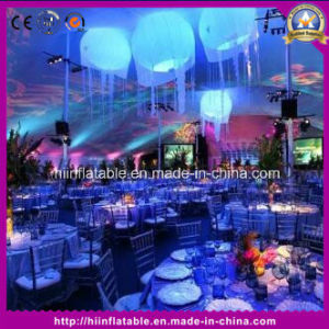 Wedding Decoration Inflatable Ball with The LED Changeable Lights for Event