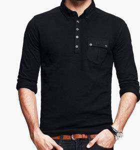 Men Cotton Polo T Shirt pictures & photos