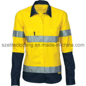 Custom Safety Hi Vis Fluorescent Clothes (ELTHVJ-211) pictures & photos