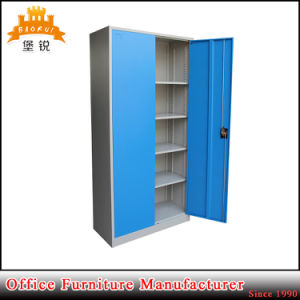 2 Swing Door 4 Adjustable Shelves Steel Storage File Cabinet Cupboard pictures & photos