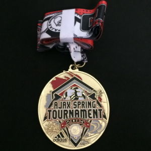 Custom Zinc Alloy Gold Medal for Championship Rewards pictures & photos