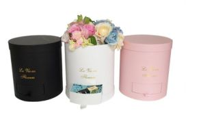 High Qulality Elegant Design Round Tube Paper Gift Box (YY-F0008) pictures & photos
