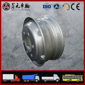 Tube Truck Steel Wheel Rim, Zhenyuan Factory (9.00*22.5 8.5-24) pictures & photos
