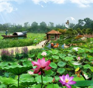 Pond Liner for Lotus Pool pictures & photos