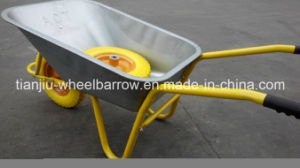 Heavy Duty Pneumatic Wheel Metal Tray Wheelbarrow, Wb5009 Building Wheel Barrow pictures & photos