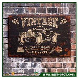 Modern Customized Made Car Wood Painting pictures & photos