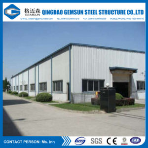 China Design Prefabricated Steel Structure Warehouse with Ce Certification pictures & photos