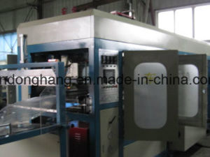 Donghang Plastic Automatic Plate Tray Bowl Box Forming Machine pictures & photos