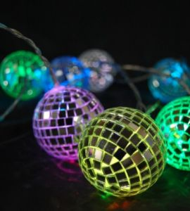 Mirror Ball Decoration Light Chain pictures & photos