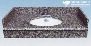 Polished Granite Vanity Top for Bathroom (SV008) pictures & photos
