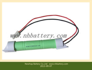 3.6V 8000mAh D Rechargeable Ni-MH Battery Pack, Rechargeable Batteries, Battery Packs
