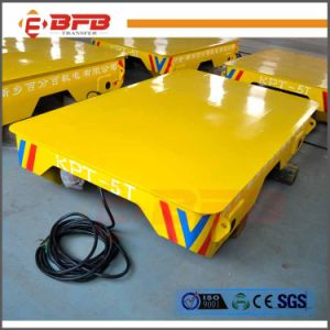 Special Rail Transfer Trolley Used in Sand Blusting Room (KPT-5T) pictures & photos