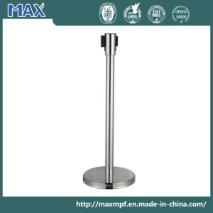 Public Bank Hotel Airport Station Webbing Stanchion for Crowd Control pictures & photos