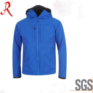 Windproof and Waterproof Fashion Softshell Jacket (QF-4118) pictures & photos