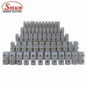 60A 25mm2 Terminal Block Plastic Terminal Blocks H/ U/ V Type PA PP PE pictures & photos