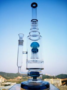 Pure Thick Glass Water Pipe Big pipe with OEM Service pictures & photos