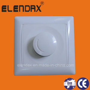 European Style Wall Mounted Rotary Dimmer Switch 220V Voltage and Manual Switch Type Dimmer 220V (F6003) pictures & photos