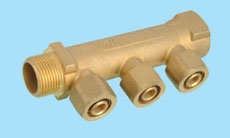 Linear Manifold for Pex Pipe