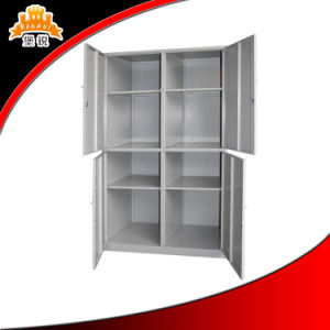 School Dormitory Furniture Modern 4 Door Wardrobe pictures & photos