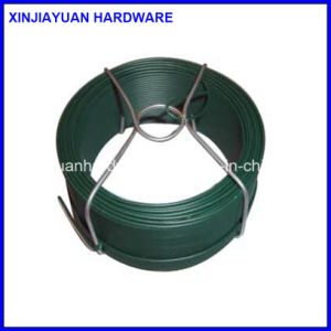 0.8mm/1.15mm Dark Green PVC Coated Coil Wire for Garden Use pictures & photos