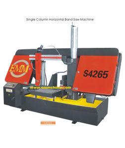 Emm S4265 Single Column Horizontal Metal Band Sawing Machine