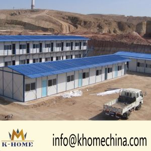 Low Cost Prefab House and Work Camp pictures & photos