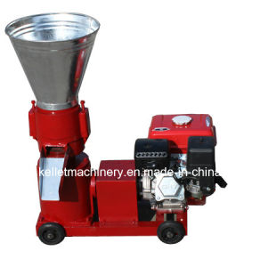 Competitive Pellet Machine with Diesel Engine