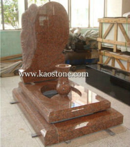 Polished Red Granite Headstone for Momorial pictures & photos