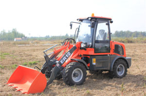 Everun Brand New CE Certificated 1.2 Ton Shovel Loader pictures & photos