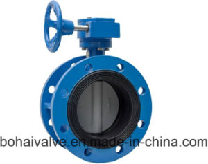 Manual Flange Casting Iron Butterfly Valve