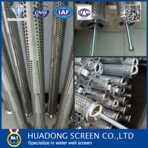 Stainless Steel 304/316 Perforated Slotted Drilling Pipe Screen pictures & photos