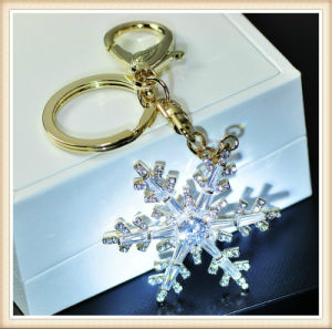 New Design Flower Glass Stones Fashion Jewelry Key Chain pictures & photos