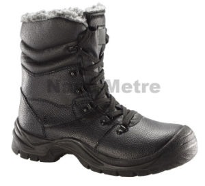 Nmsafety 2014 Work Men Boots High Heel Steel Toe Shoes pictures & photos